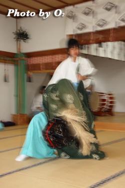 松前神楽 獅子舞五方