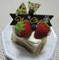 クリスマス ミニケーキ