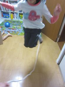 縄跳び練習
