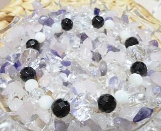 水晶×ONXカット×マザーオブパール (1)