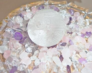 青龍水晶置物 (2)