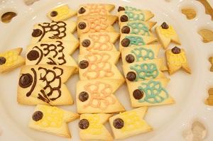 こいのぼりクッキー2