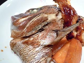 鯛のかぶと煮~八角風味~