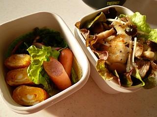 桜鯛のマスタードソテー弁当