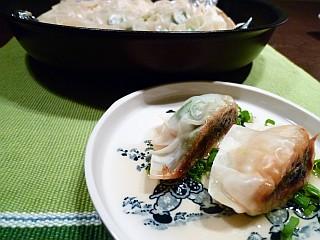 飛魚の栄養満点☆ヘルシー餃子1
