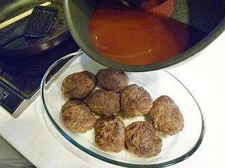 デミハンバーグとカラフル野菜のかくれんぼパイstep7