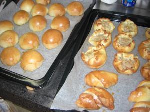 あんパンと惣菜パン