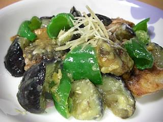 サバと夏野菜の鍋しぎ