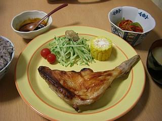 チキンロースト~大葉ニンニク醤油風味~