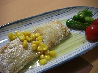 太刀魚のムニエル~レモンバターソース~