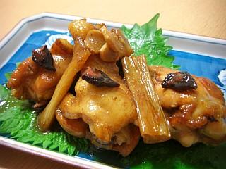 鶏手羽元の八角煮