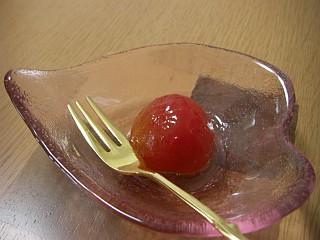 プチトマトの白ワイン煮