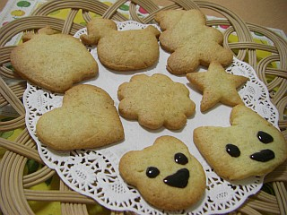 ノンタンのたんじょうびクッキー1