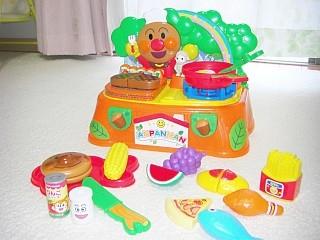 アンパンマン 森でおりょうりキッチンセット1