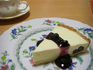 ブルーベリーレアチーズタルト