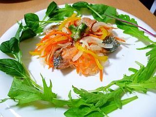 秋鮭のエスカベッシュ秋鮭の