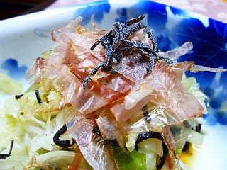 花舞う☆キャベツの和風サラダ