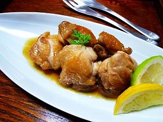 鶏肉のほんわかレモン煮