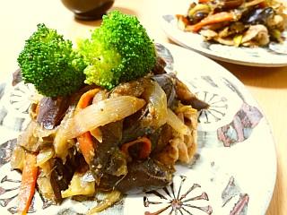 豚肉とたっぷり野菜の味噌炒め