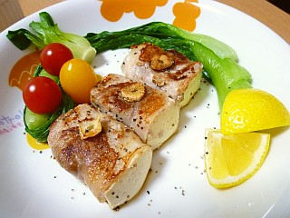 【GABANブラックペパー☆レシピ】ひと口SOY☆ポークステーキ
