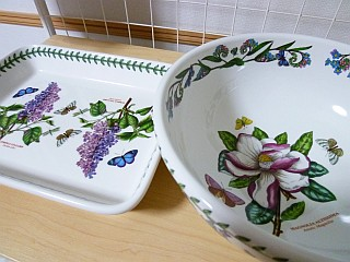 botanical gaden's dishes