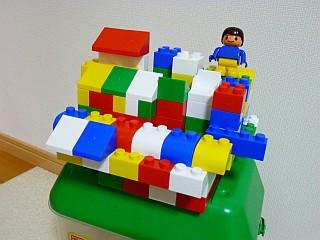 ブロックの要塞1