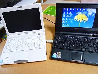 パソコン2台体制