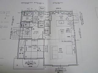 壁追加・家具位置の図面
