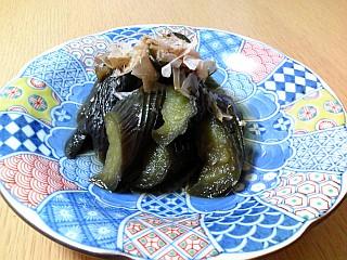 とろけるナスのさっぱり生姜煮