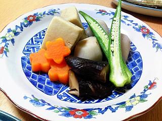 生姜風味のお煮しめ