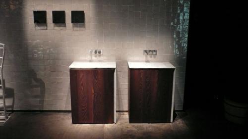 2台の洗面