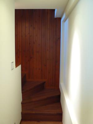 自宅1階廊下