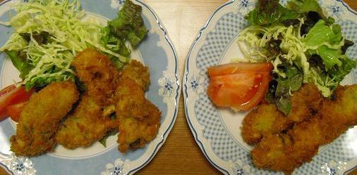 5追 牡蠣フライ