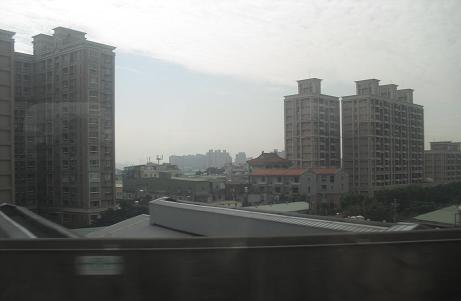 14 台湾新幹線・車窓