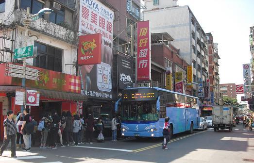 4 瑞芳駅前のバス停