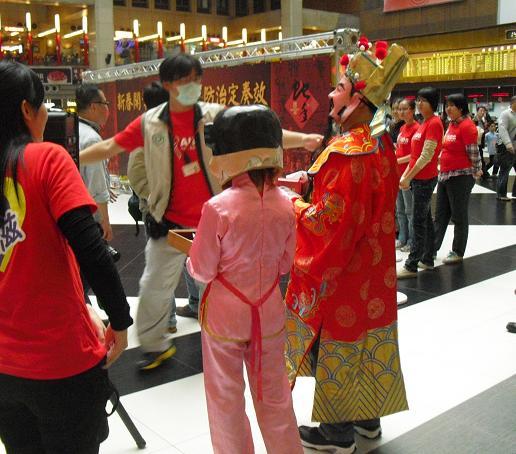 16 台北駅の催し物