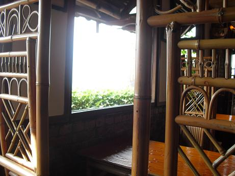 3 茶芸館の室内