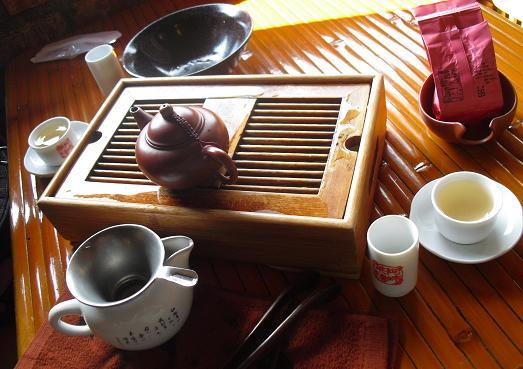 5 茶芸館の茶器