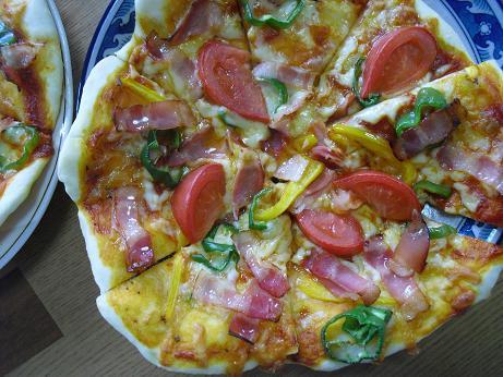 1 手作りピザ