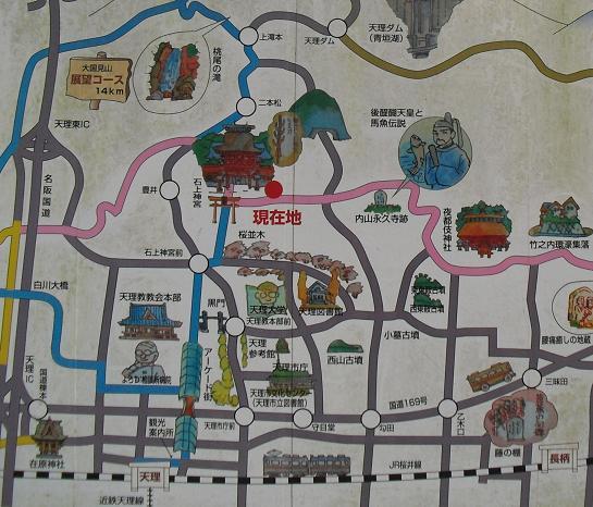 10 石神神宮・地図