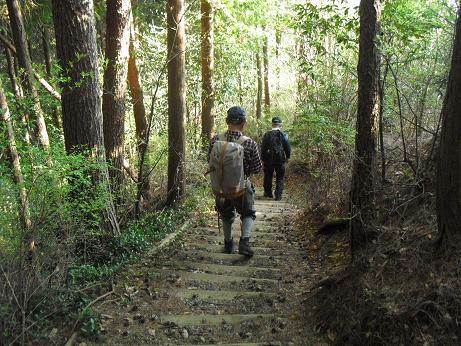 17 山ノ神へ向う階段