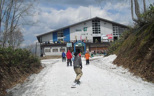 11 はくば47スキー場へ