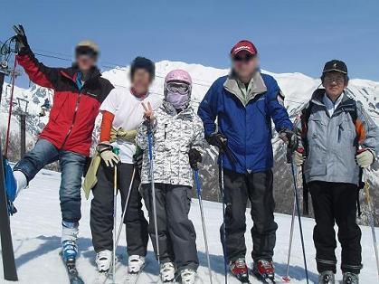 3 スキー・全員集合