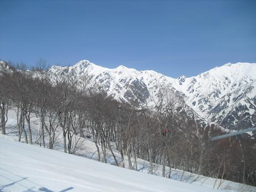 4 左 五竜岳