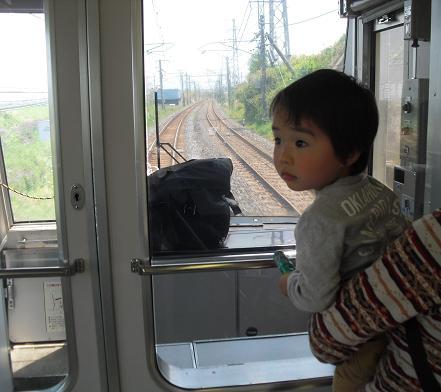 1 電車の一番前