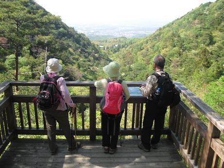 7 瑞宝寺谷の展望台