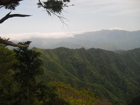 14 台高山脈とラウンドコース