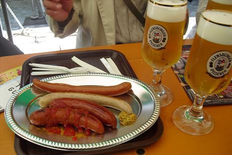 5 ビールとソーセージ