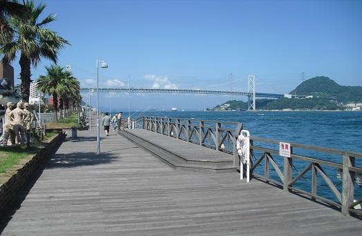6 唐戸市場から関門大橋・関門海峡