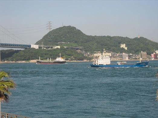 7 唐戸市場から関門大橋・関門海峡